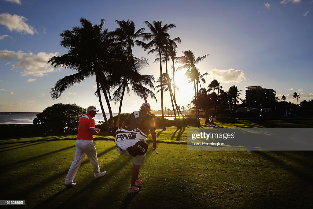 <a gi-track='captionPersonalityLinkClicked' href=/galleries/search?phrase=Daniel+Chopra&family=editorial&specificpeople=228104 ng-click='$event.stopPropagation()'>Daniel Chopra</a> of Sweden plays a hole during a practice round prior to the Sony Open in Hawaii at Waialae Country Club on January 7, 2014 in Honolulu, Hawaii.