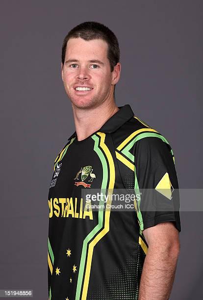 Daniel Christian of Australia poses during a portrait session on September 13 2012 in Colombo Sri Lanka