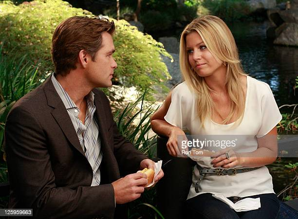 CHILDREN Daniel Cosgrove and Stephanie Gatschet in a scene that airs the week of September 19 2011 on ABC Daytime's 'All My Children' 'All My...