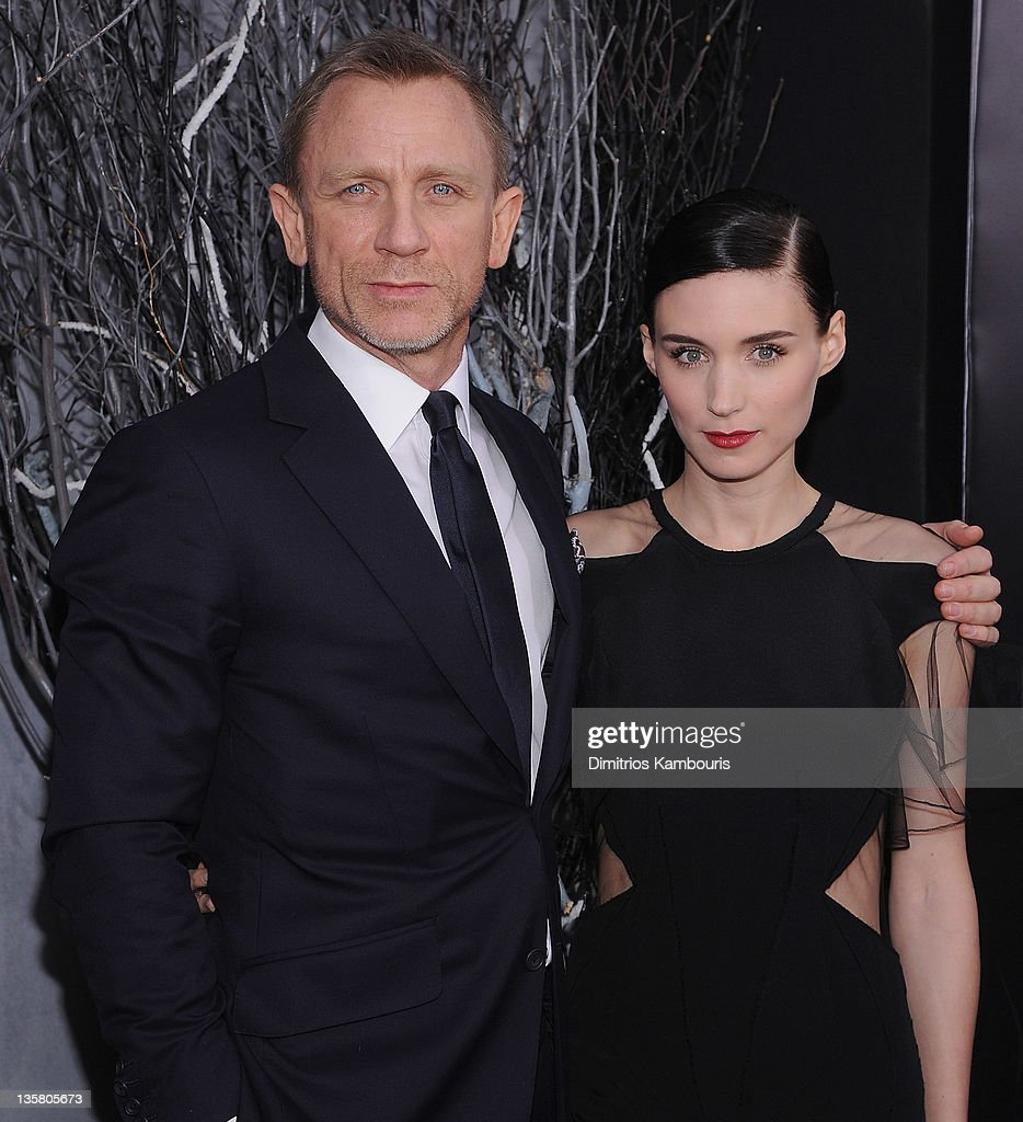 Daniel Craig and <a gi-track='captionPersonalityLinkClicked' href=/galleries/search?phrase=Rooney+Mara&family=editorial&specificpeople=5669181 ng-click='$event.stopPropagation()'>Rooney Mara</a> attend the 'The Girl With the Dragon Tattoo' New York premiere at Ziegfeld Theater on December 14, 2011 in New York City.