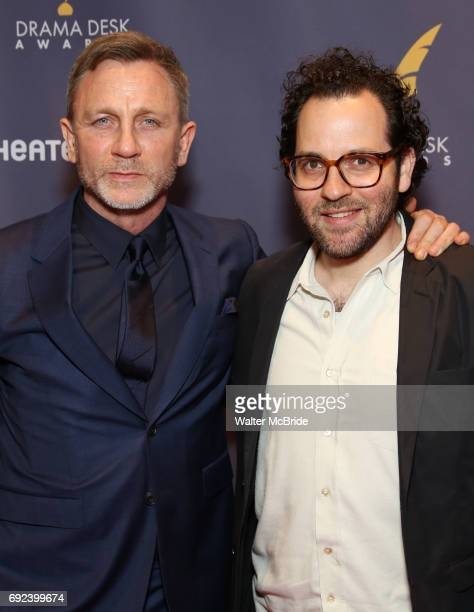 Daniel Craig and Sam Gold attend the 2017 Drama Desk Awards at Town Hall on June 4 2017 in New York City