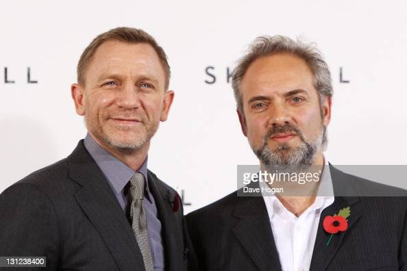 Daniel Craig and Sam Mendes attend a photocall with cast and filmmakers to mark the start of production which is due to commence on the 23rd Bond...