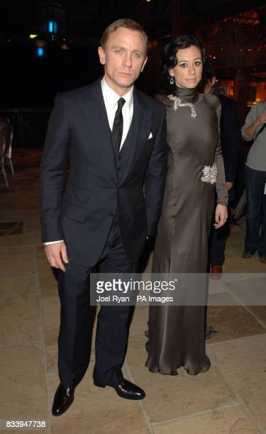 Daniel Craig and Satsuki Mitchell at the Golden Compass World Premiere afterparty at the Tobacco Docks in London