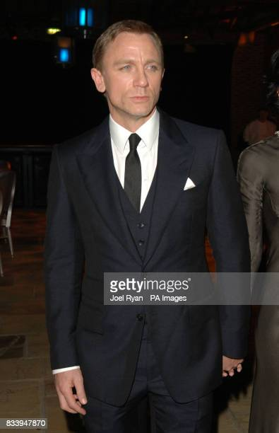 Daniel Craig at the Golden Compass World Premiere afterparty at the Tobacco Docks in London