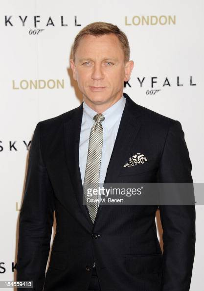 Daniel Craig attends a photocall for the new James Bond film 'Skyfall' at The Dorchester on October 22 2012 in London England