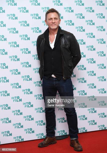 Daniel Craig attends the Into Film Awards on March 14 2017 in London United Kingdom