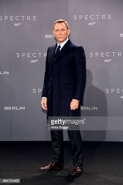 Daniel Craig attends the 'Spectre' Germany premiere in on October 28 2015 in Berlin Germany