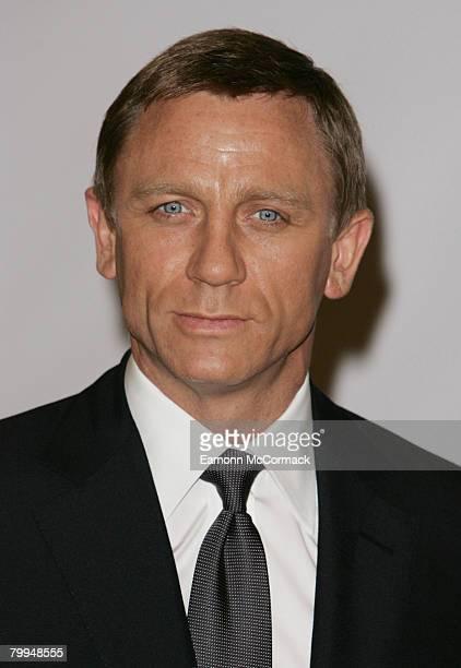 Daniel Craig Bond 22 Photocall at Pinewood Studios on January 24 2008 in London England