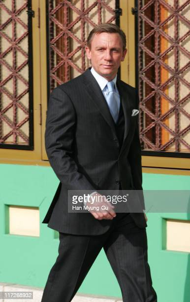 Daniel Craig during ''Casino Royale'' Seoul Photocall December 11 2006 at Shilla Hotel in Seoul South Korea
