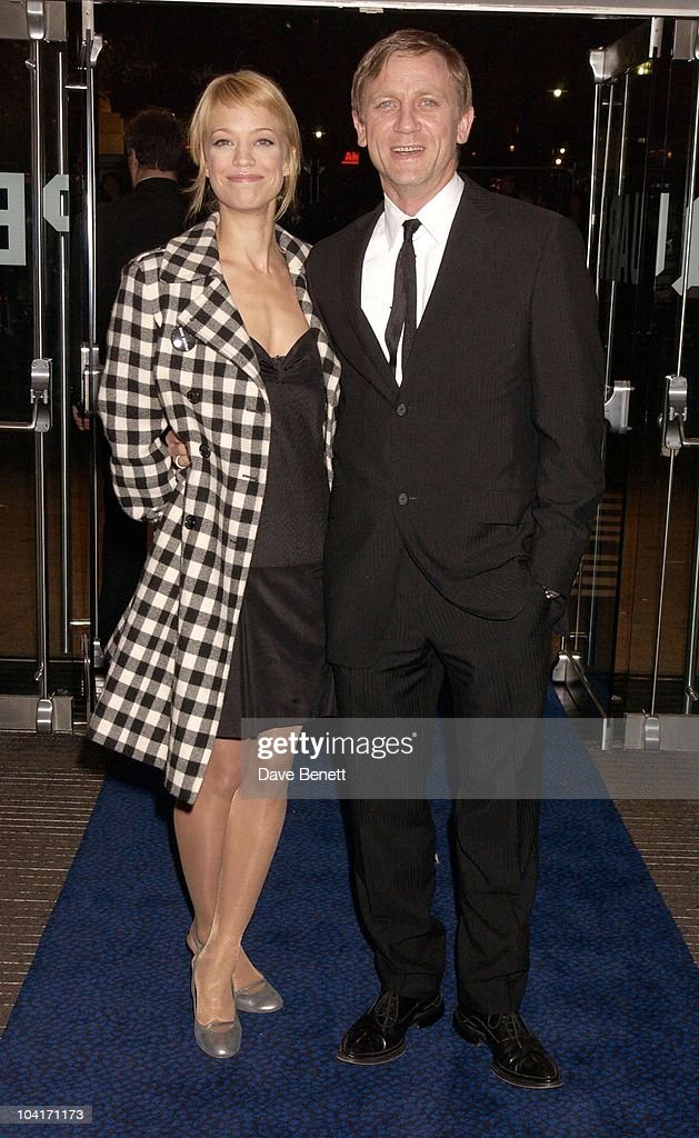 Daniel Craig With Heike Makatsch, Sylvia Movie Screening Starring Gwyneth Paltrow At The Closing Gala Of The London Film Festival, At The Odeon, Leicester Square, London
