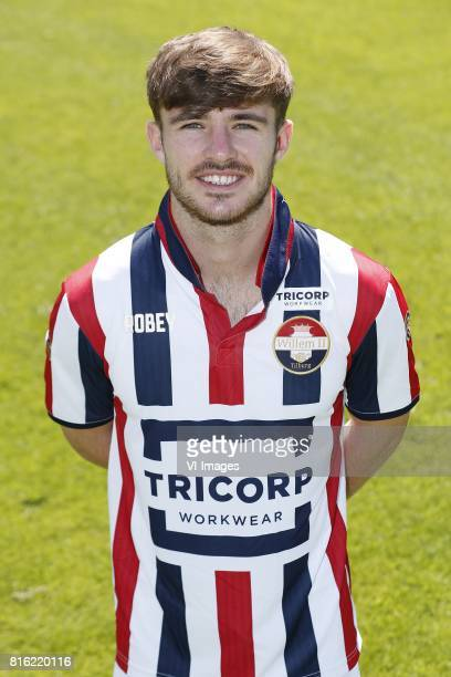 Daniel Crowley during the team presentation of Willem II on July 17 2017 at sportcomplex SC t Zand in Tilburg The Netherlands