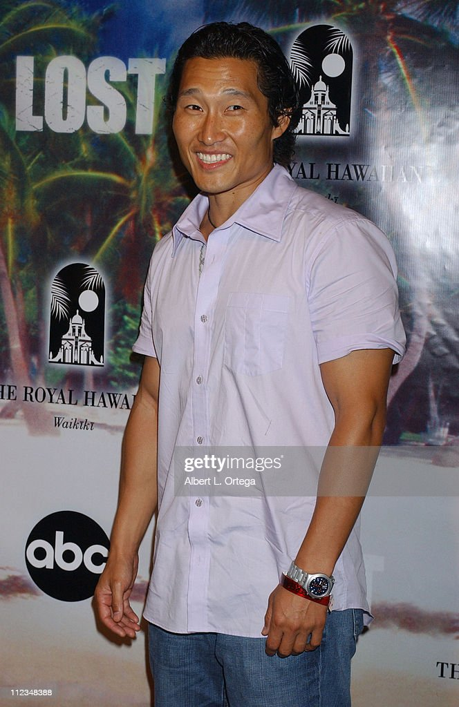 <a gi-track='captionPersonalityLinkClicked' href=/galleries/search?phrase=Daniel+Dae+Kim&family=editorial&specificpeople=581168 ng-click='$event.stopPropagation()'>Daniel Dae Kim</a> during 'Lost' Season 2 Premiere - After Party at Royal Hawaiian Hotel in Honolulu, Hawaii, United States.