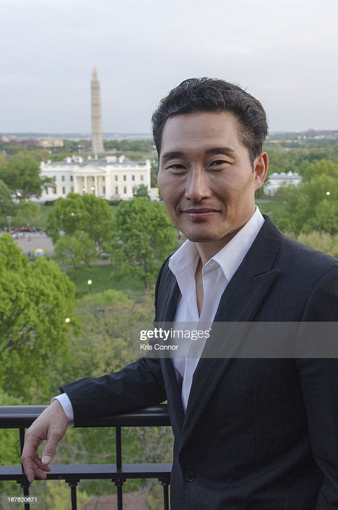 <a gi-track='captionPersonalityLinkClicked' href=/galleries/search?phrase=Daniel+Dae+Kim&family=editorial&specificpeople=581168 ng-click='$event.stopPropagation()'>Daniel Dae Kim</a> poses for a photo during the 4th Annual Our Voices: Celebrating Diversity in Media reception to benefit Voto Latino at The Hay-Adams on April 26, 2013 in Washington, DC.