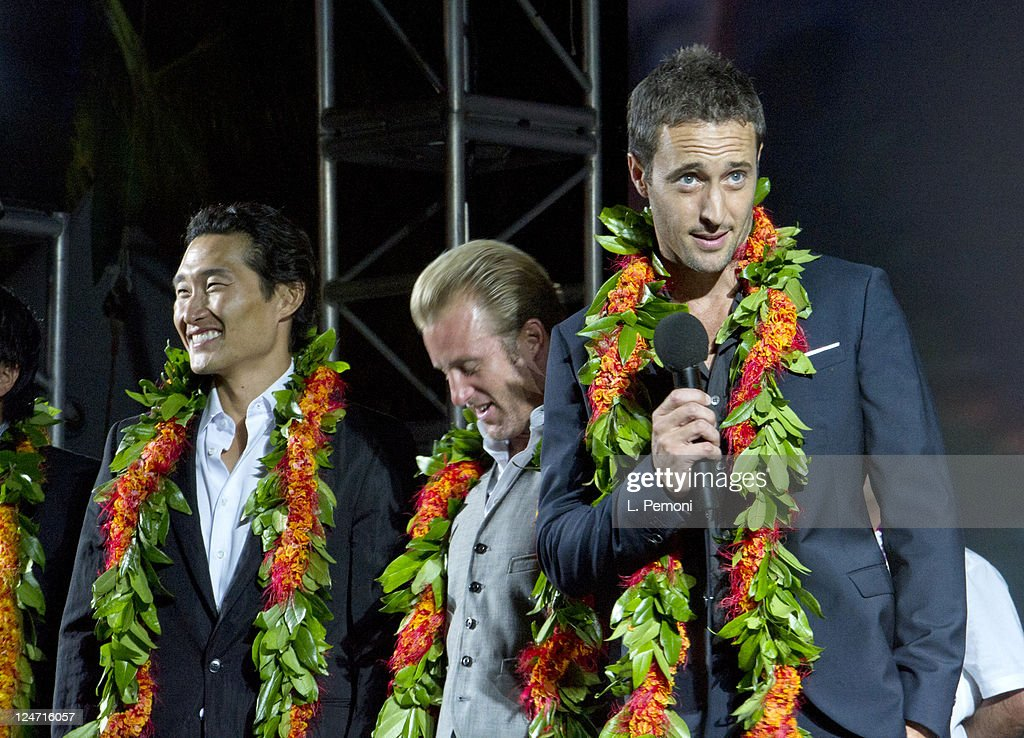 <a gi-track='captionPersonalityLinkClicked' href=/galleries/search?phrase=Daniel+Dae+Kim&family=editorial&specificpeople=581168 ng-click='$event.stopPropagation()'>Daniel Dae Kim</a>, <a gi-track='captionPersonalityLinkClicked' href=/galleries/search?phrase=Scott+Caan+-+Actor&family=editorial&specificpeople=227280 ng-click='$event.stopPropagation()'>Scott Caan</a> and Alex O'Loughlin attend the Screening Of 'Hawaii Five-0' Season 2 on September 10, 2011 in Waikiki, Hawaii.