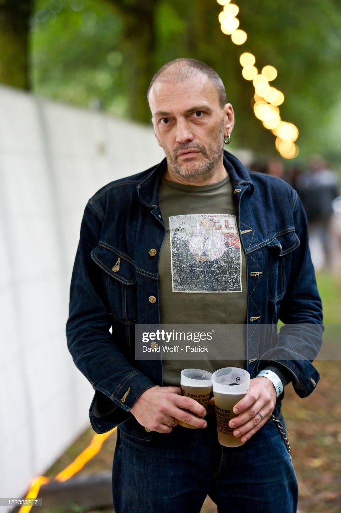 <a gi-track='captionPersonalityLinkClicked' href=/galleries/search?phrase=Daniel+Darc&family=editorial&specificpeople=663118 ng-click='$event.stopPropagation()'>Daniel Darc</a> poses at Rock en Seine Festival Day 2 at Domaine National de Saint-Cloud on August 27, 2011 in Paris, France.