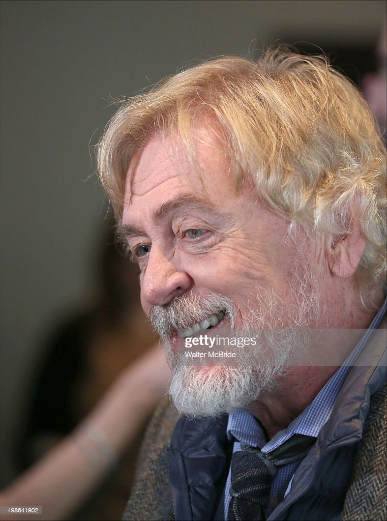 Daniel Davis attends the photo call for the Roundabout Theatre Company production of 'Noises Off' at the American Airlines Theatre on November 24...