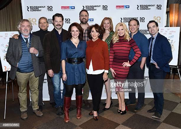 Daniel Davis Campbell Scott Tracee Chimo Jeremy Herrin Andrea Martin Kate Jennings Grant Megan Hilty Jeremy Shamos and Rob McClure attend 'Noises...