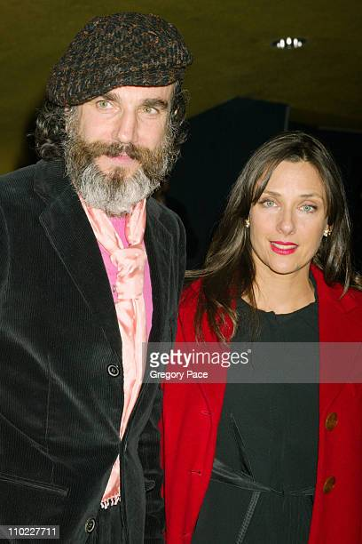 Daniel Day Lewis and Rebecca Miller Director of 'The Ballad of Jack Rose'