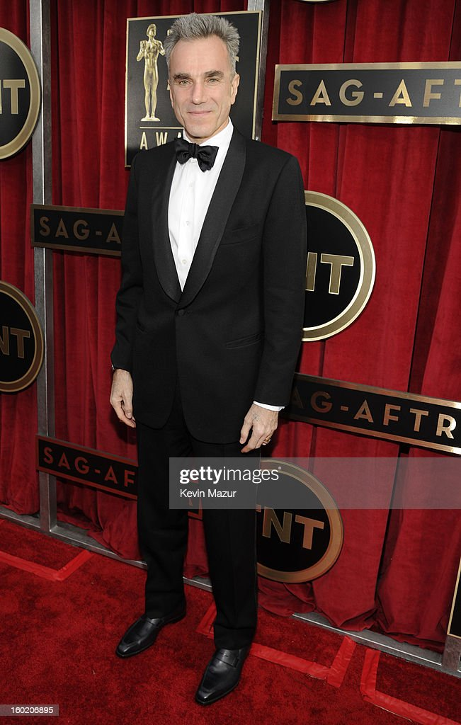 Daniel Day Lewis attends the 19th Annual Screen Actors Guild Awards at The Shrine Auditorium on January 27, 2013 in Los Angeles, California. (Photo by Kevin Mazur/WireImage) 23116_016_0827.jpg