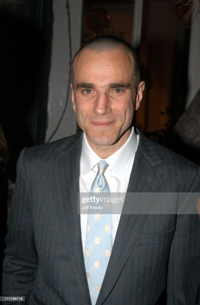 Daniel Day Lewis during Irwin Winkler Party for Martin Scorsese at Winkler Home in Beverly Hills, CA, United States.