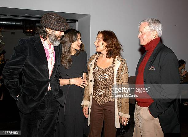 Daniel Day Lewis Rebecca Miller Diane von Furstenberg and Tom Brokaw