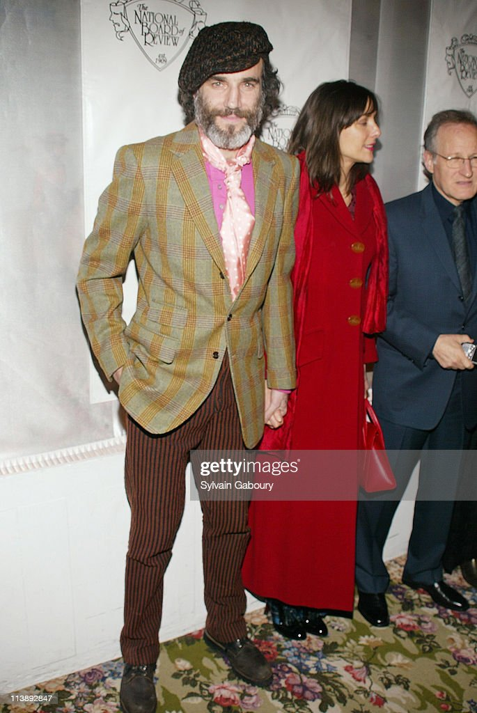 Daniel Day Lewis, Rebecca Miller during The National Board of Review Awards Gala at Tavern on the Green in New York, New York, United States.