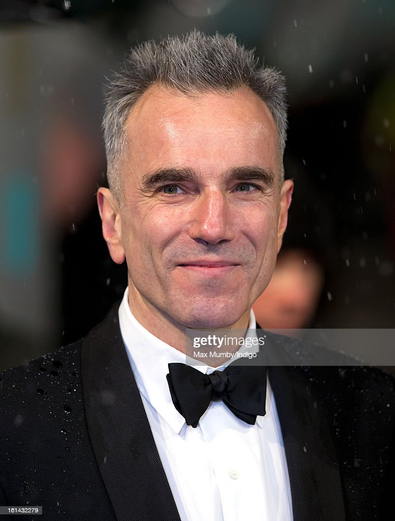 Daniel Day-Lewis attends the EE British Academy Film Awards at The Royal Opera House on February 10, 2013 in London, England.