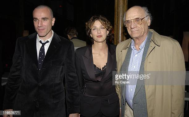 Daniel DayLewis wife writer/director Rebecca Miller and Rebecca's father playwright Arthur Miller
