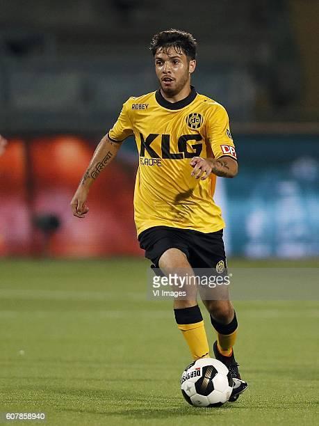 Daniel de Silva of Roda JC during the Dutch Eredivisie match between Roda JC Kerkrade and SC Heerenveen at the Parkstad Limburg stadium on September...