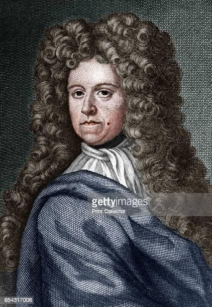Daniel Defoe English writer journalist and spy Portrait of Defoe author of Robinson Crusoe Artist Unknown