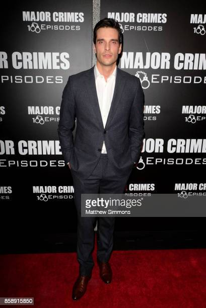 Daniel Di Tomasso at TNT's 'Major Crimes' 100th episode celebration at 71Above on October 7 2017 in Los Angeles California