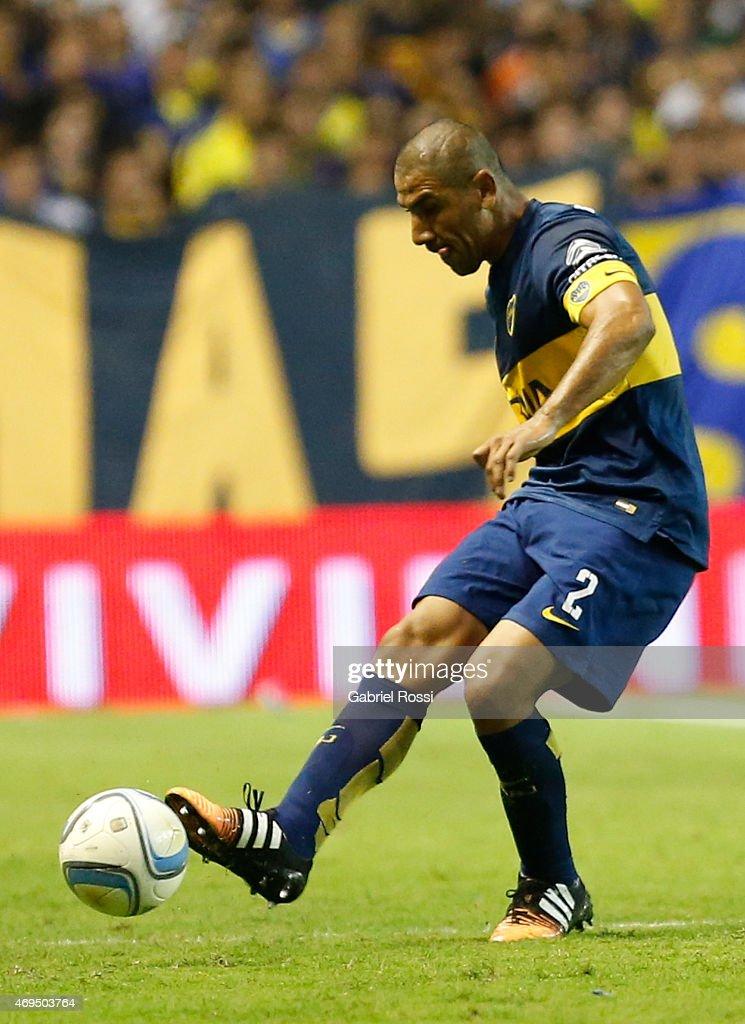 Boca Juniors v Nueva Chicago - Torneo Primera Division 2015