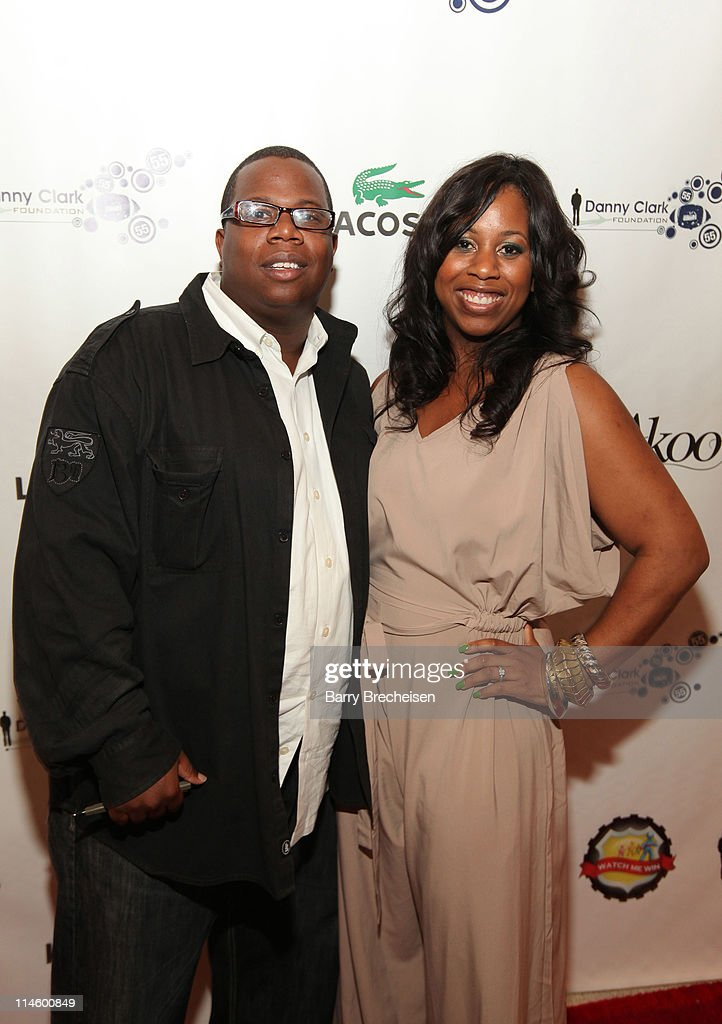 Daniel Dickey and Nicole Garner of The Garner Circle Pr attend the <a gi-track='captionPersonalityLinkClicked' href=/galleries/search?phrase=Danny+Clark&family=editorial&specificpeople=585740 ng-click='$event.stopPropagation()'>Danny Clark</a> Foundation 2nd Annual Laughs for Lives charity comedy event at Harold Washington Cultural Center on May 7, 2010 in Chicago, Illinois.