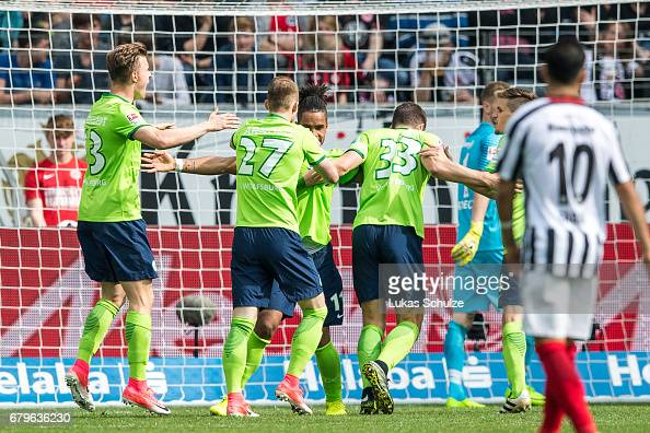 Eintracht Frankfurt v VfL Wolfsburg - Bundesliga : News Photo