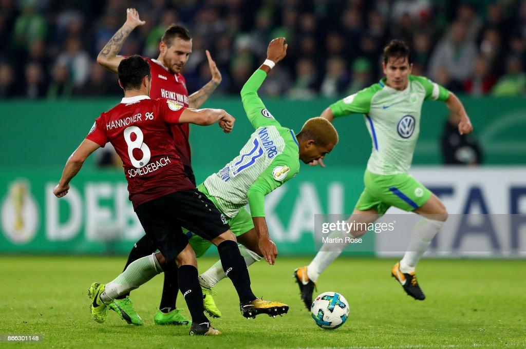 VfL Wolfsburg v Hannover 96 - DFB Cup