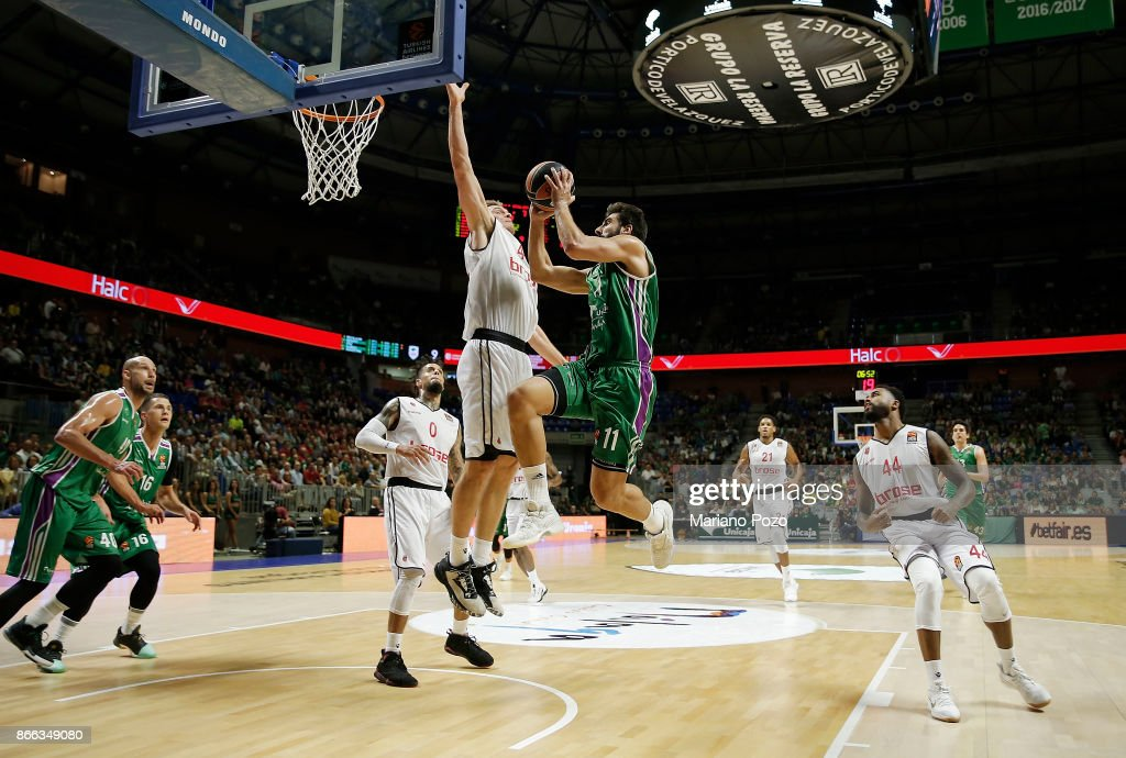 Unicaja Malaga v Brose Bamberg - Turkish Airlines EuroLeague