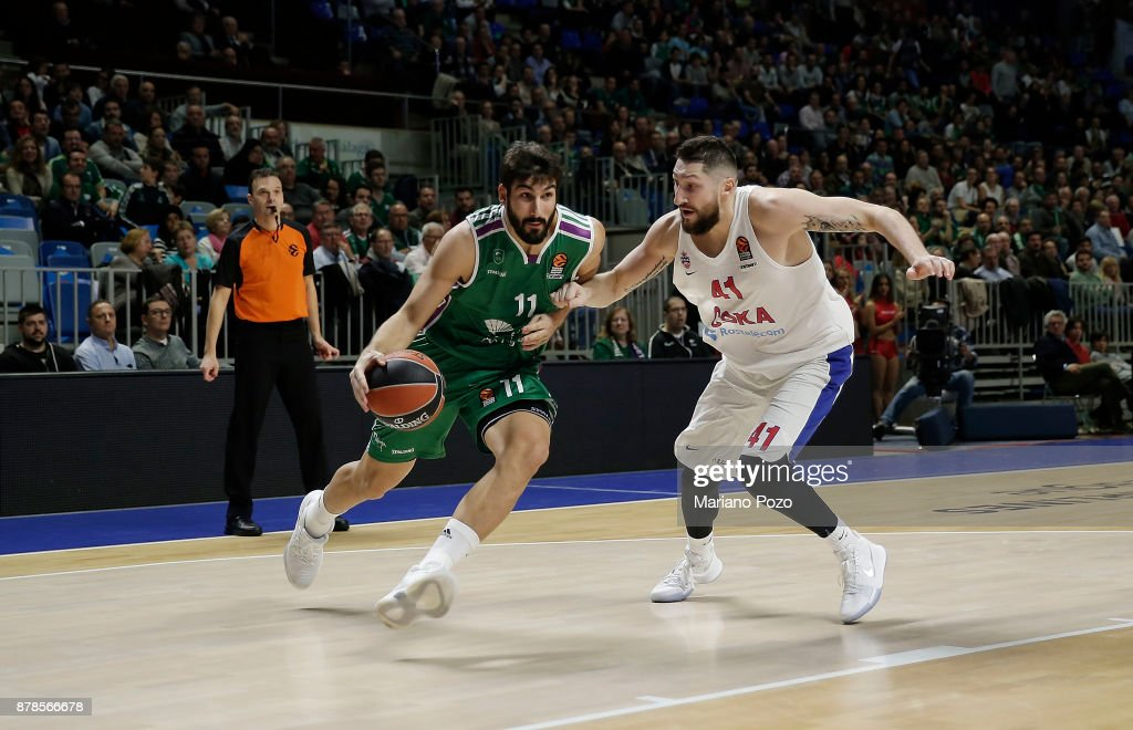Unicaja Malaga v CSKA Moscow - Turkish Airlines EuroLeague