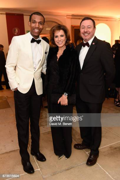 Daniel Edmund Natasha Kaplinsky and Paul Brown attend Hublot 'Classic Fusion Chronograph Prince's Trust' launch at The Orangery Kensington Palace on...