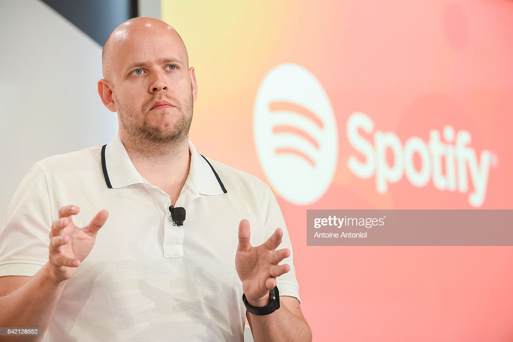 Daniel Ek, founder and chief executive officer of Spotify, attends the Cannes Lions 2016 on June 22, 2016 in Cannes, France.