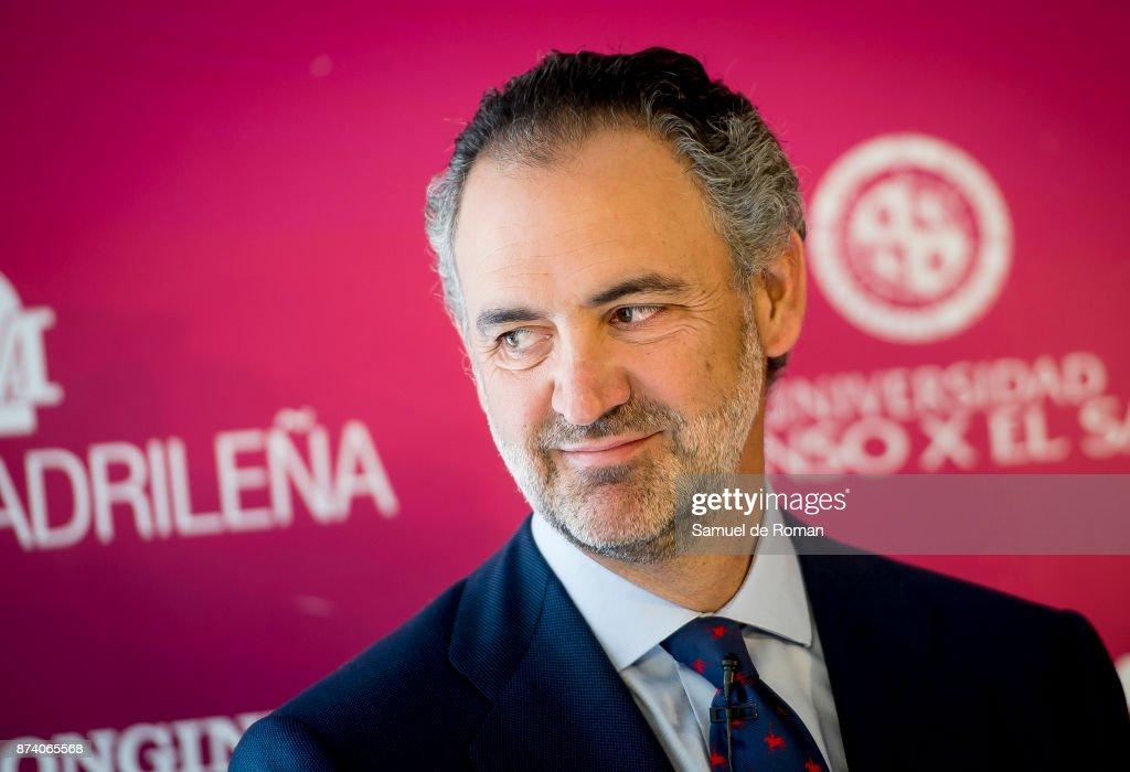 Daniel Entrecanales during Madrid Horse Week 2017 Presentation on November 14, 2017 in Madrid, Spain.