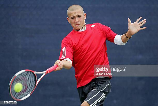 dan evans tennis player stock photos and pictures getty images. Black Bedroom Furniture Sets. Home Design Ideas