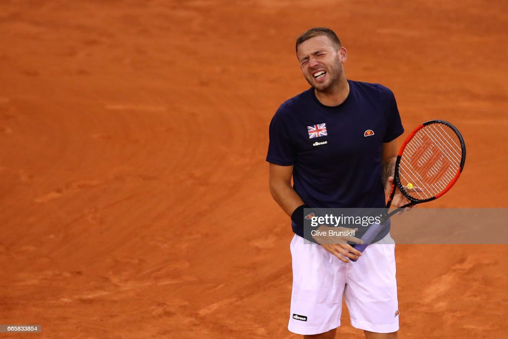 France v Great Britain - Davis Cup World Group Quarter-Final: Day One