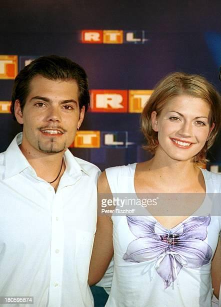 Daniel Fehlow Lebensgefährtin Nina Bott RTLSoap 'Gute Zeiten schlechte Zeiten' Pressekonferenz Freundin
