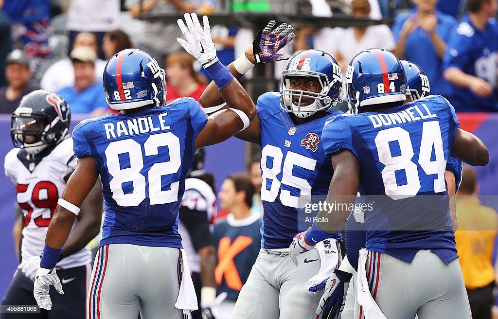 Nike NFL Jerseys - Houston Texans v New York Giants | Getty Images