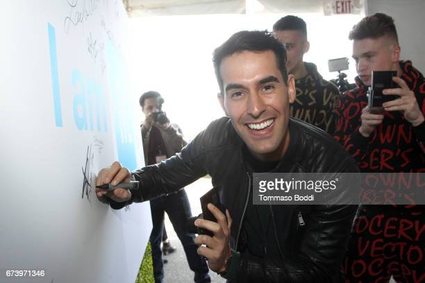 Daniel Fernandez attends WE Day California to celebrate young people changing the world at The Forum on April 27 2017 in Inglewood California