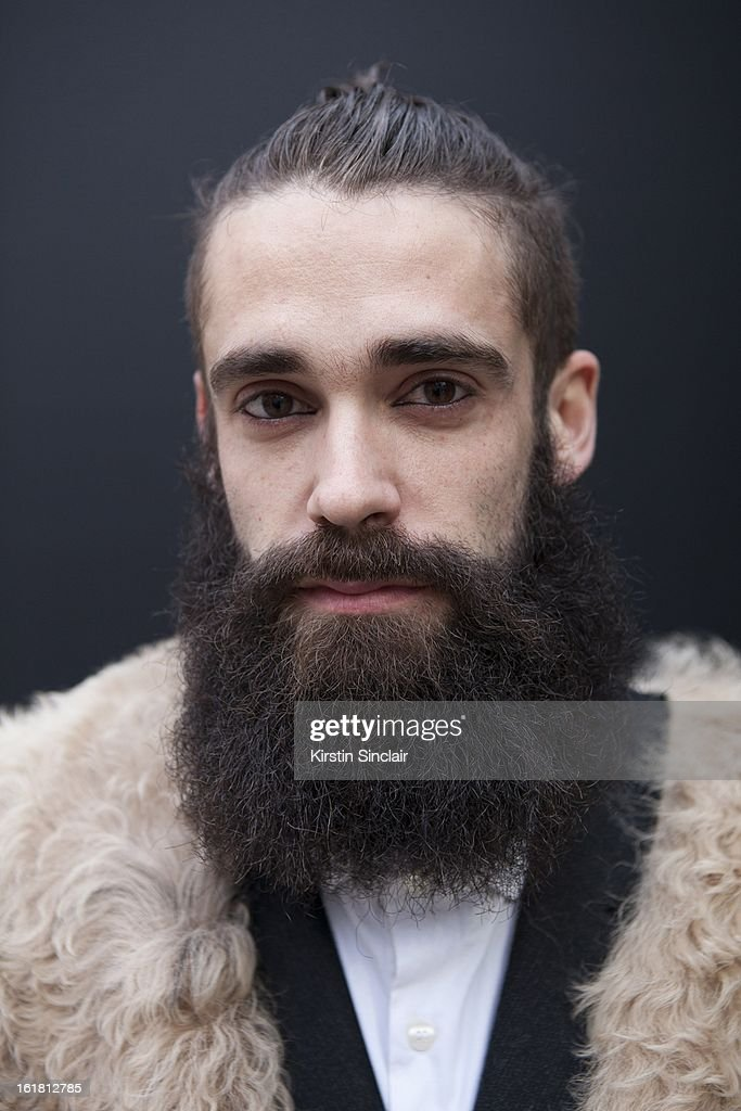 Daniel Fernanez architect, on day 2 of London Womens Fashion Week Autumn/Winter 2013 on February 16, 2013 in London, England.