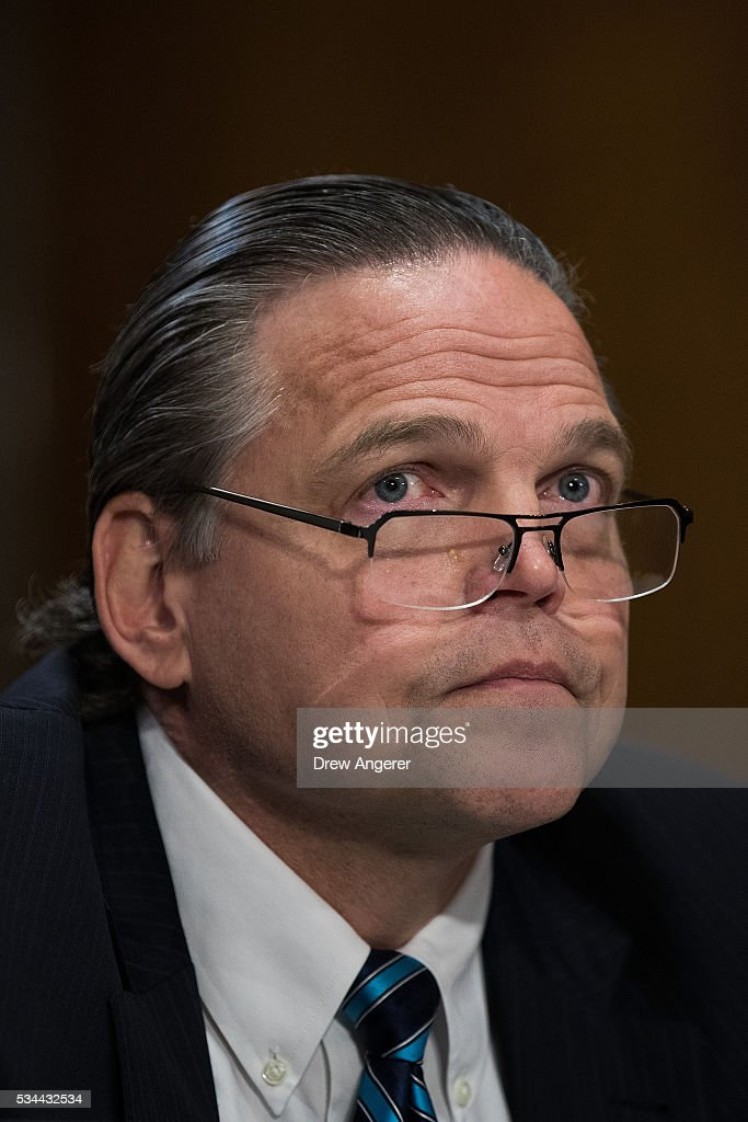 Daniel Foote, Deputy Assistant Secretary of State for the Bureau of International Narcotics and Law Enforcement at the U.S. Department of State, testifies during a Senate Foreign Relations Committee hearing concerning cartels and the U.S. heroin epidemic, on Capitol Hill, May 26, 2016, in Washington, DC. According to the U.S. Centers for Disease Control and Prevention, from 2002 to 2013 the rate of heroin-related deaths quadrupled in the United States, with most of the increase coming after 2010.