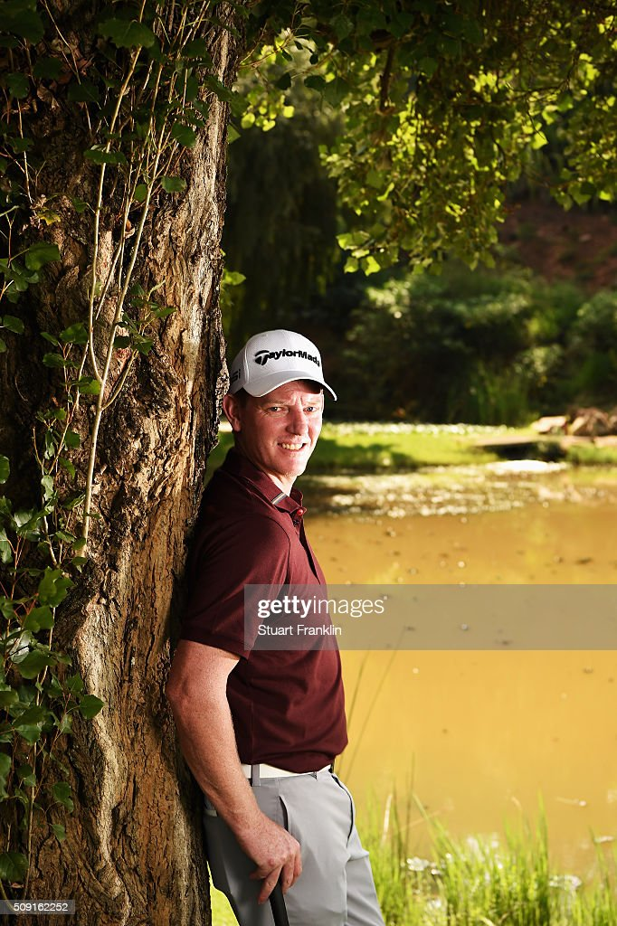 Daniel Gaunt of Australia poses for a picture prior to the start of the Tshwane Open at Pretoria Country Club on February 09, 2016 in Pretoria, South Africa.
