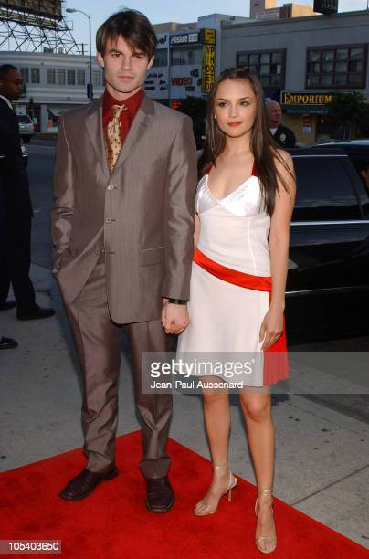 Daniel Gillies and Rachael Leigh Cook during 'Stateside' Los Angeles Premiere Arrivals at The Crest Theatre in Westwood California United States