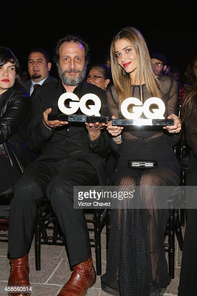 Daniel Giménez Cacho and Ana Beatriz Barros are seen during the GQ Men Of The Year Award 2014 on November 6 2014 in Mexico City Mexico